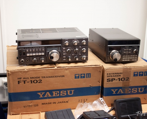 Yaesu FT-102 lijn